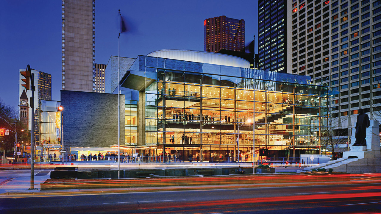 Four Seasons Centre For The Performing Arts on Corner Lot House Designs