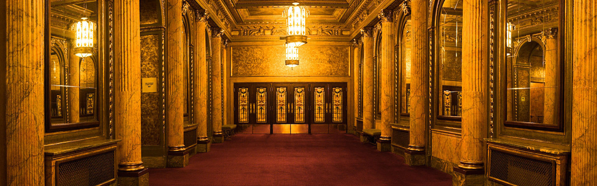 Winter Garden Theatre Lobby