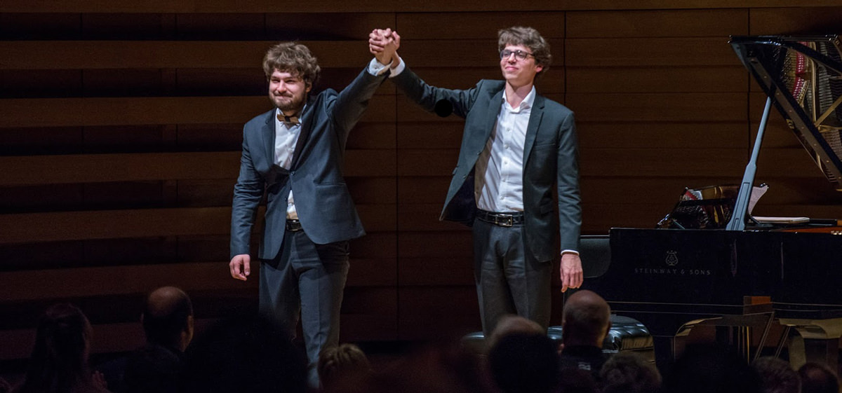 Lucas & Lukas: Piano Duo RecitalWinners of The XV International Tchaikovsky Competition
