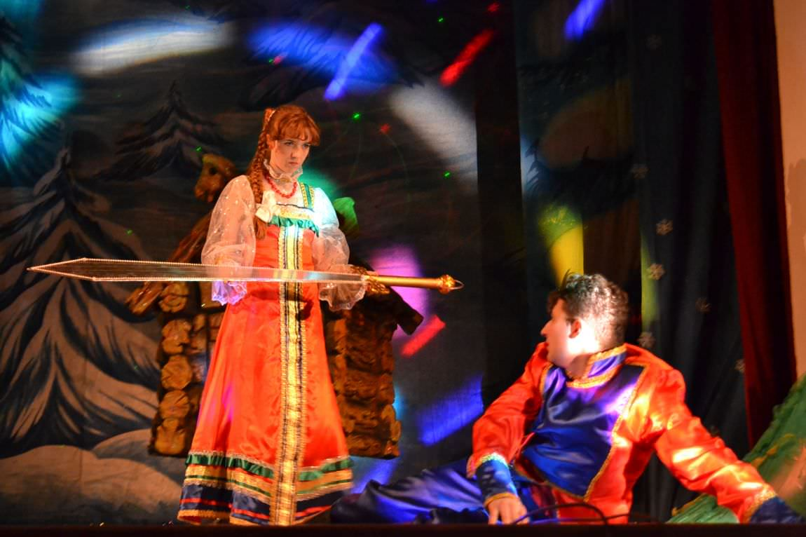 "New Year Musical for Children ""Vasilisa Prekrasnaya"""