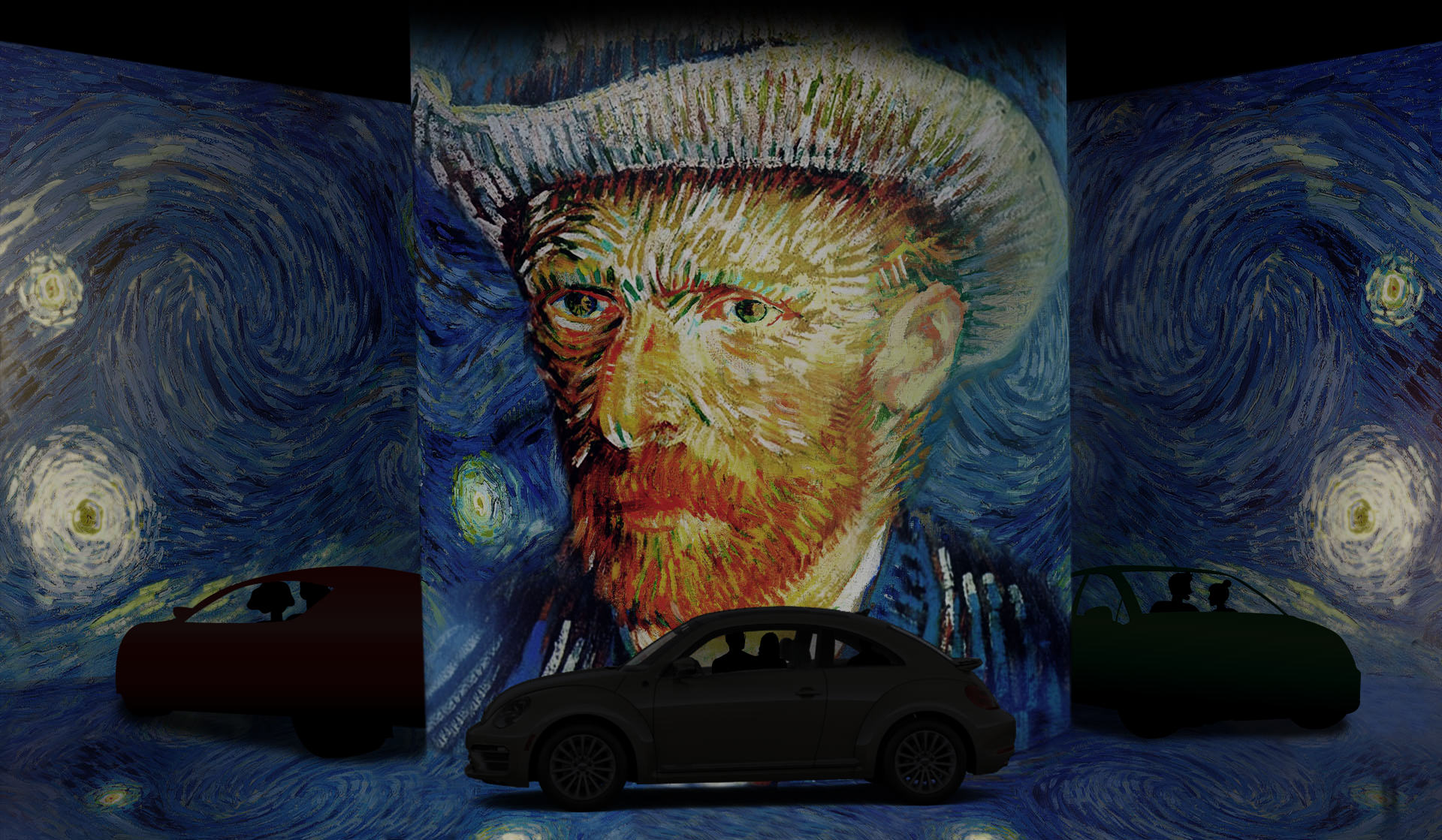 Drive & Gogh: Immersive Van Gogh Announces World's First Drive-In Digital Art Exhibition