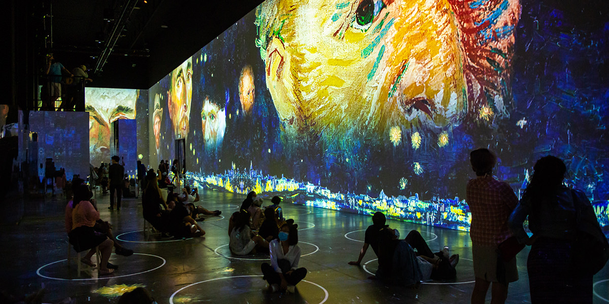 """Immersive Van Gogh"" Extends through September 6, 2021"
