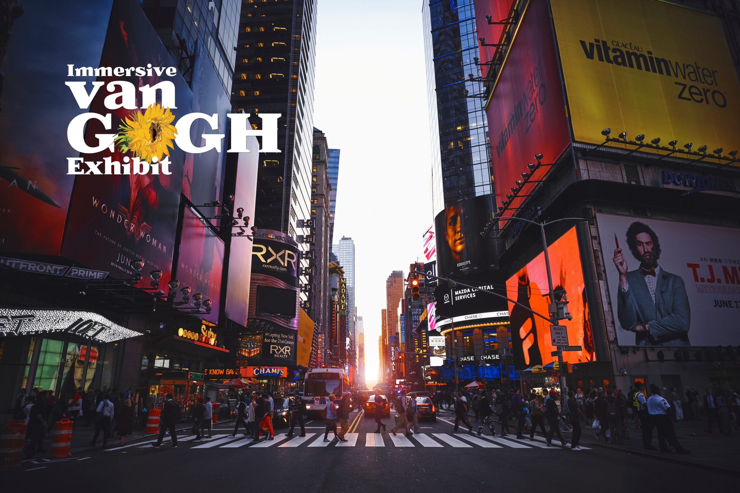 IMMERSIVE VAN GOGH IN NEW YORK CITY