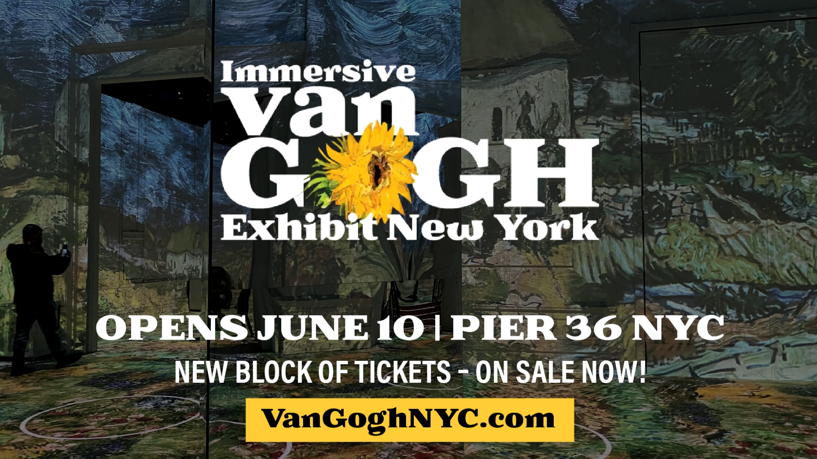 Immersive Van Gogh New York City Press Event