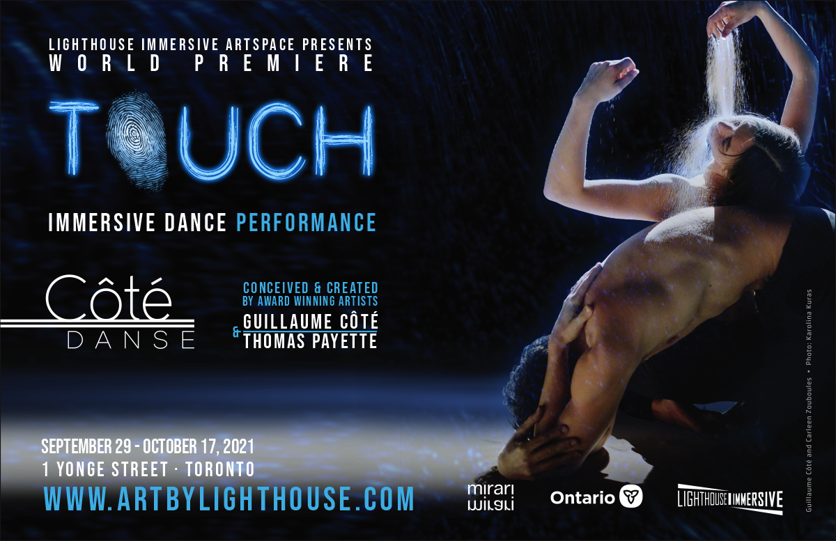 TOUCH – an immersive dance performance